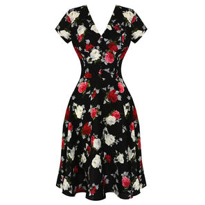 Hell Bunny Valentina 1940s Dress