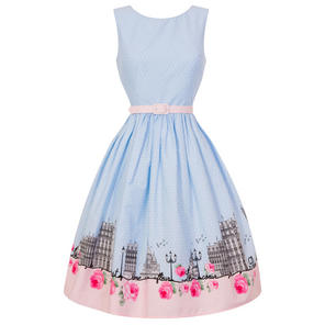 Hell Bunny Paname Paris Dress