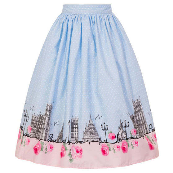 Hell Bunny Paname Paris Skirt