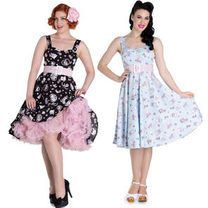 Hell Bunny Amelia Kitten 1950s Dress