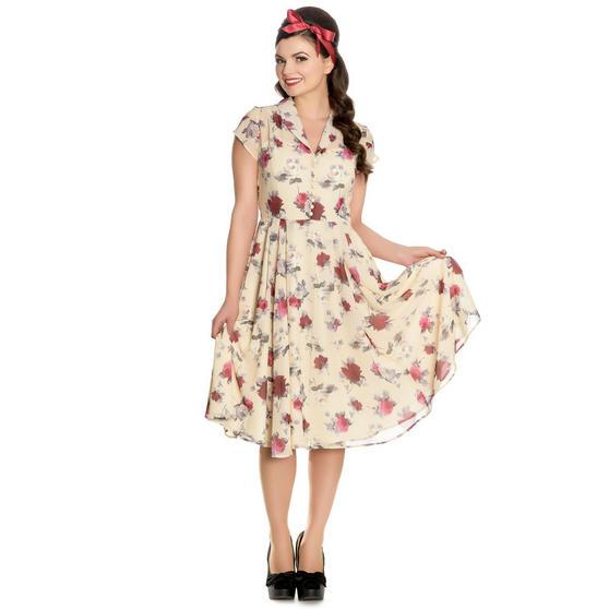 Hell Bunny Leah 1940s Dress