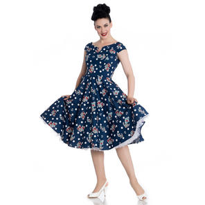 Hell Bunny Salina 1950s Dress