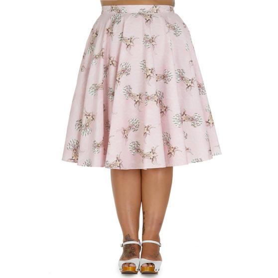 Hell Bunny Deery Me Flared Skirt
