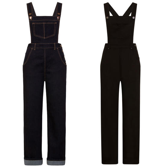 Hell Bunny Elly May Dungarees