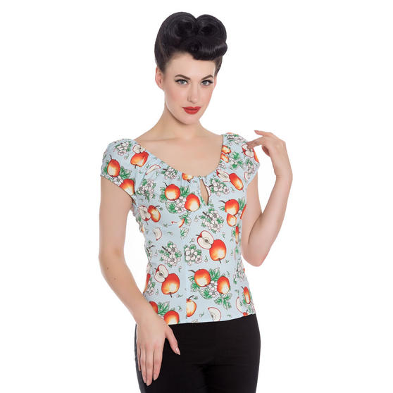 Hell Bunny Somerset Top