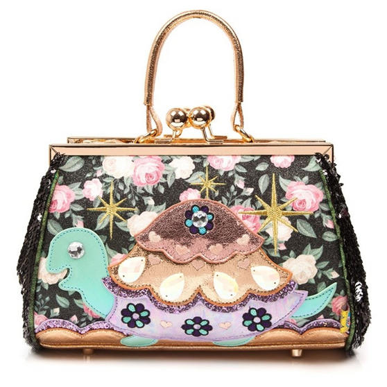Irregular Choice Jus Sayin Tortoise Handbag