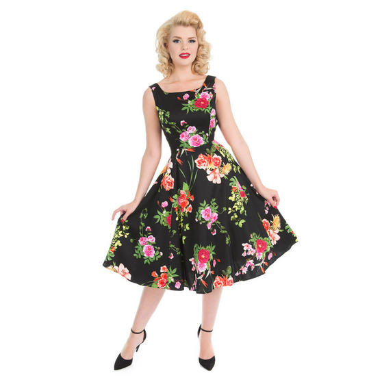 Hearts & Roses London Valentine Rose 1950s Dress