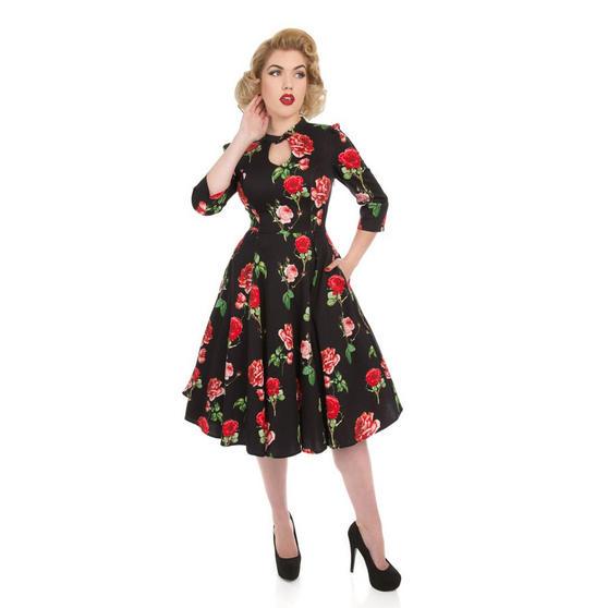 Hearts & Roses London Valentine Rose Dress