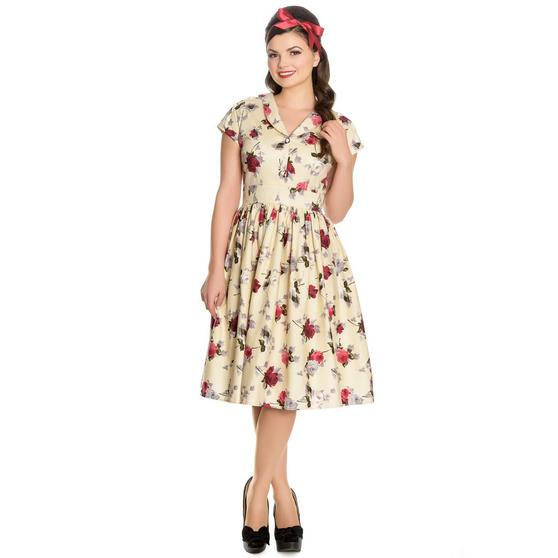 Hell Bunny Rosemary 1940s Dress