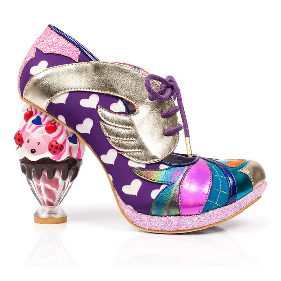 Irregular Choice Deckchair Diva Purple Shoes