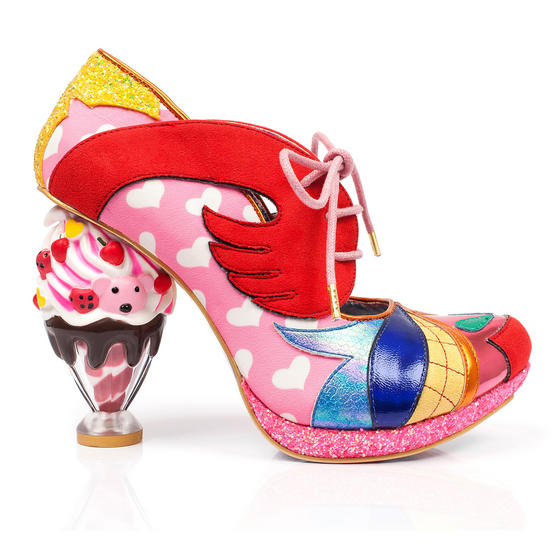 Irregular Choice Deckchair Diva Pink Shoes
