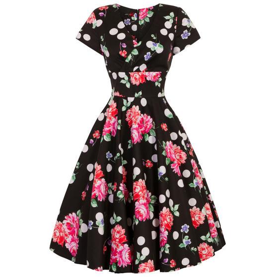 Hell Bunny Collarette 1950s Dress