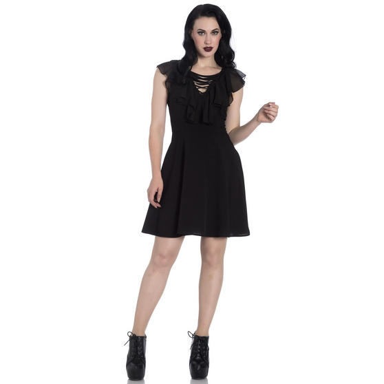 Hell Bunny Onyx Gothic Dress
