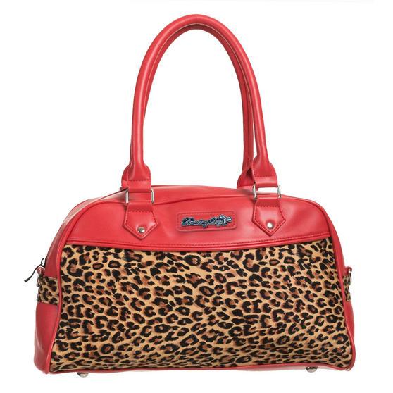 Dancing Days Tori Leopard Handbag