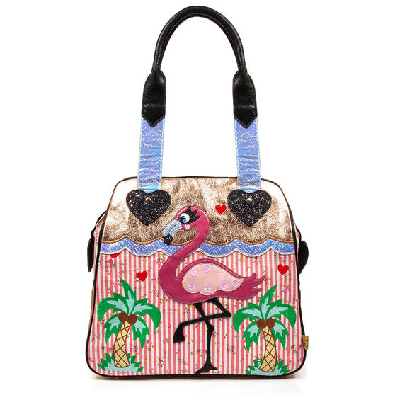 Irregular Choice Longer Legs Flamingo Handbag