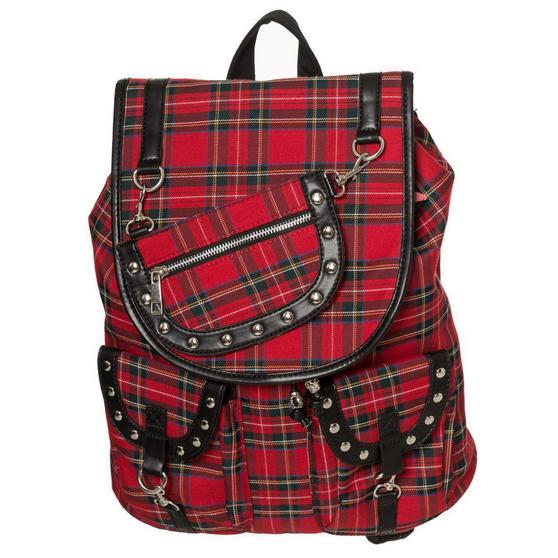 Banned Yami Tartan Backpack