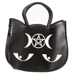 Banned Wishbone Cat Face Handbag