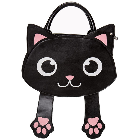 Banned Bag of Tricks Cat Handbag