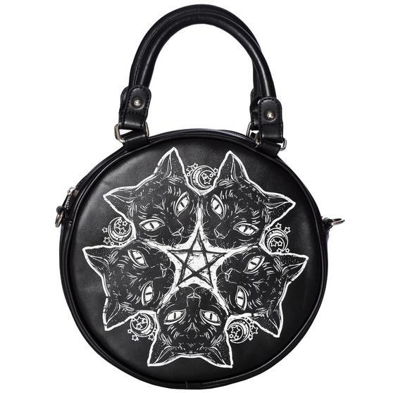 Banned Esotericat Cat Handbag