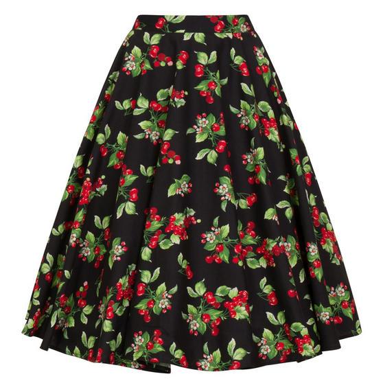 Hell Bunny Cherie 1950s Skirt