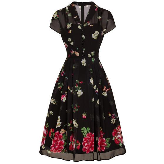 Hell Bunny Jolie Papillon Dress