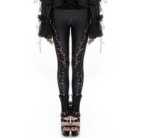 Punk Rave Floral Lace Leggings