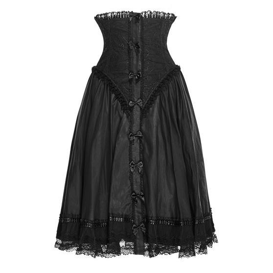 Punk Rave Black Corset Skirt