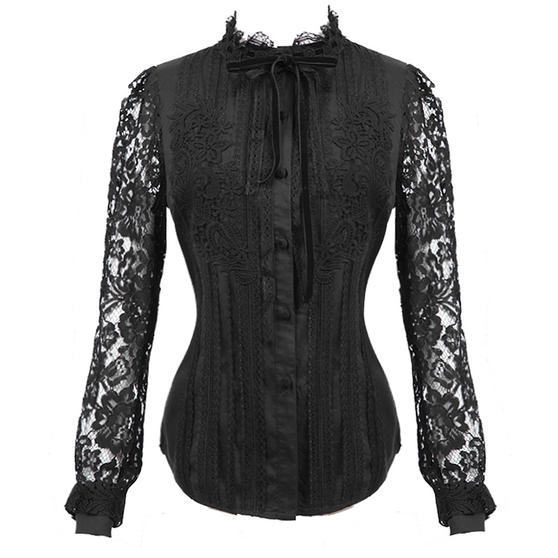 Punk Rave Lace Blouse Top