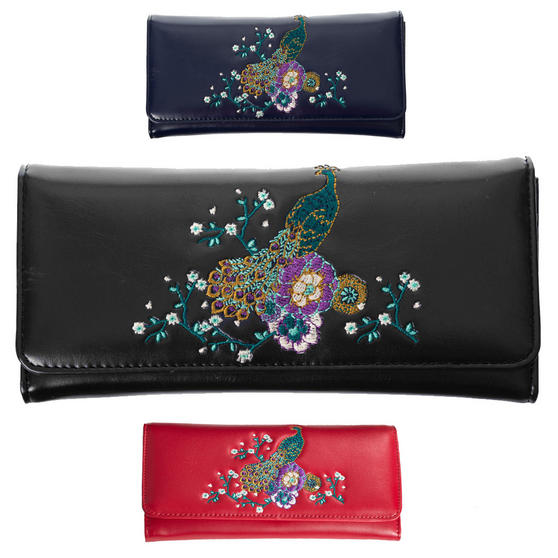 Dancing Days Mayuree Peacock Wallet