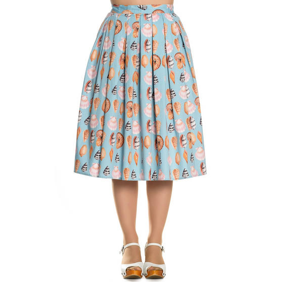 Hell Bunny Maya Bay 1950s Skirt