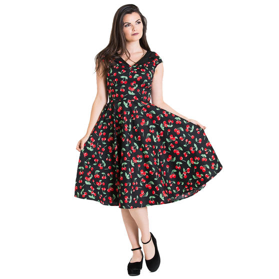 Hell Bunny Cherry Pop 1950s Dress