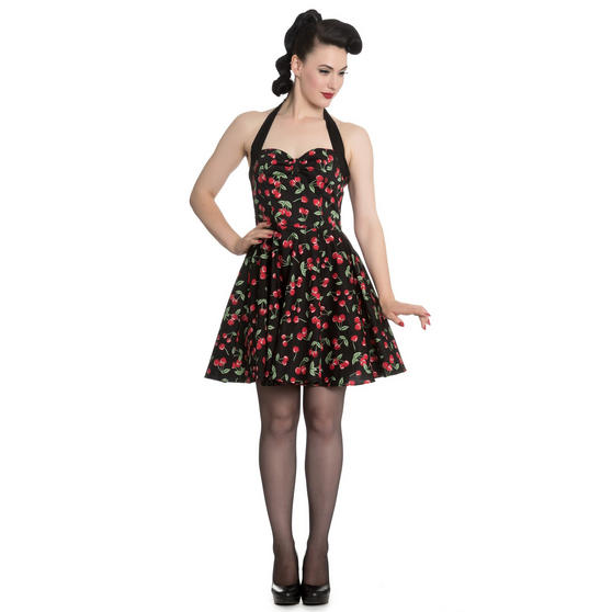 Hell Bunny Cherry Pop Mini Dress