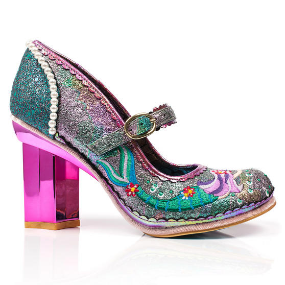 Irregular Choice Mer Magic Mermaid Shoes