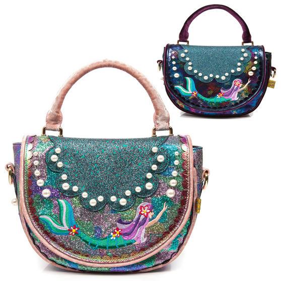 Irregular Choice Amatheia Mermaid Handbag
