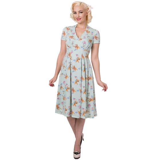Dancing Days Whimsical 1950s Dress