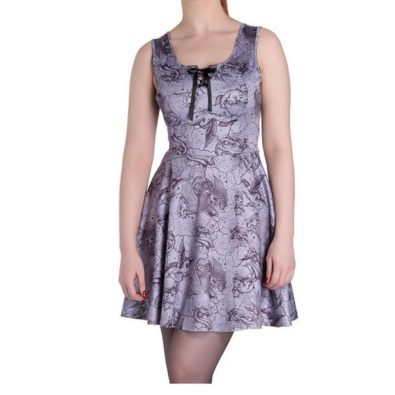Hell Bunny Spin Doctor Karis Dress