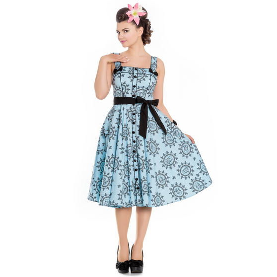 Hell Bunny Sailor Girl 1950s Dress