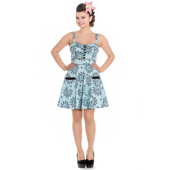 Hell Bunny Sailor Girl Mini Dress