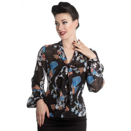 Hell Bunny Starry Night Top