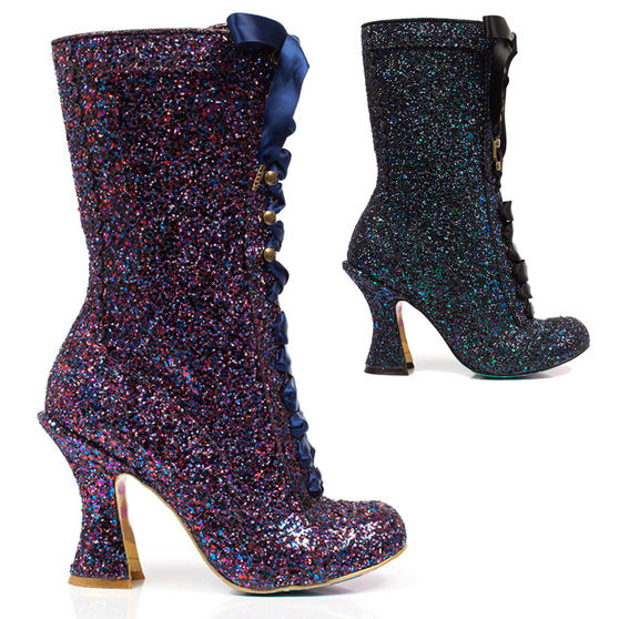 Irregular Choice Luna Sparkles Boots
