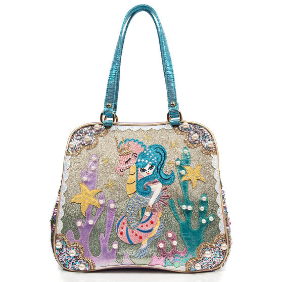 Irregular Choice Barnacle Betty Mermaid Handbag