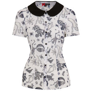 Spin Doctor Spooky Blouse
