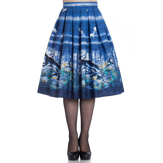 Hell Bunny Montana Skirt