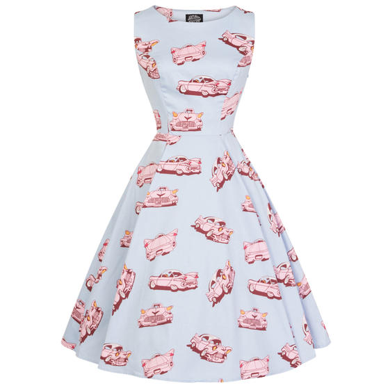 Hearts & Roses London Audrey Car Hop 1950s Dress