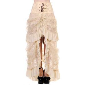 Banned Ivory Skirt
