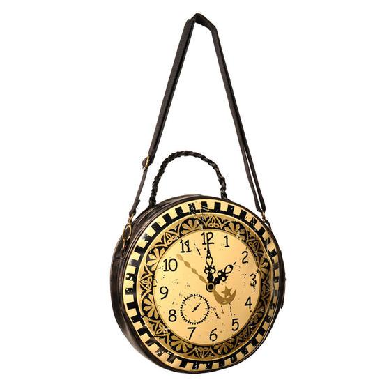Banned Steampunk Clock Handbag
