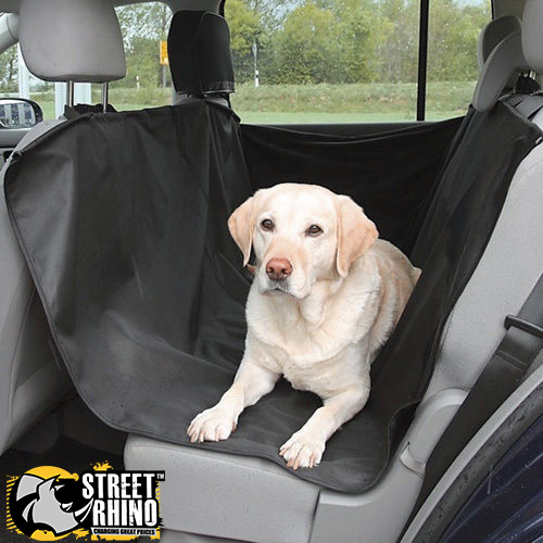 Medium image of sentinel toyota aygo universal waterproof back seat dog hammock