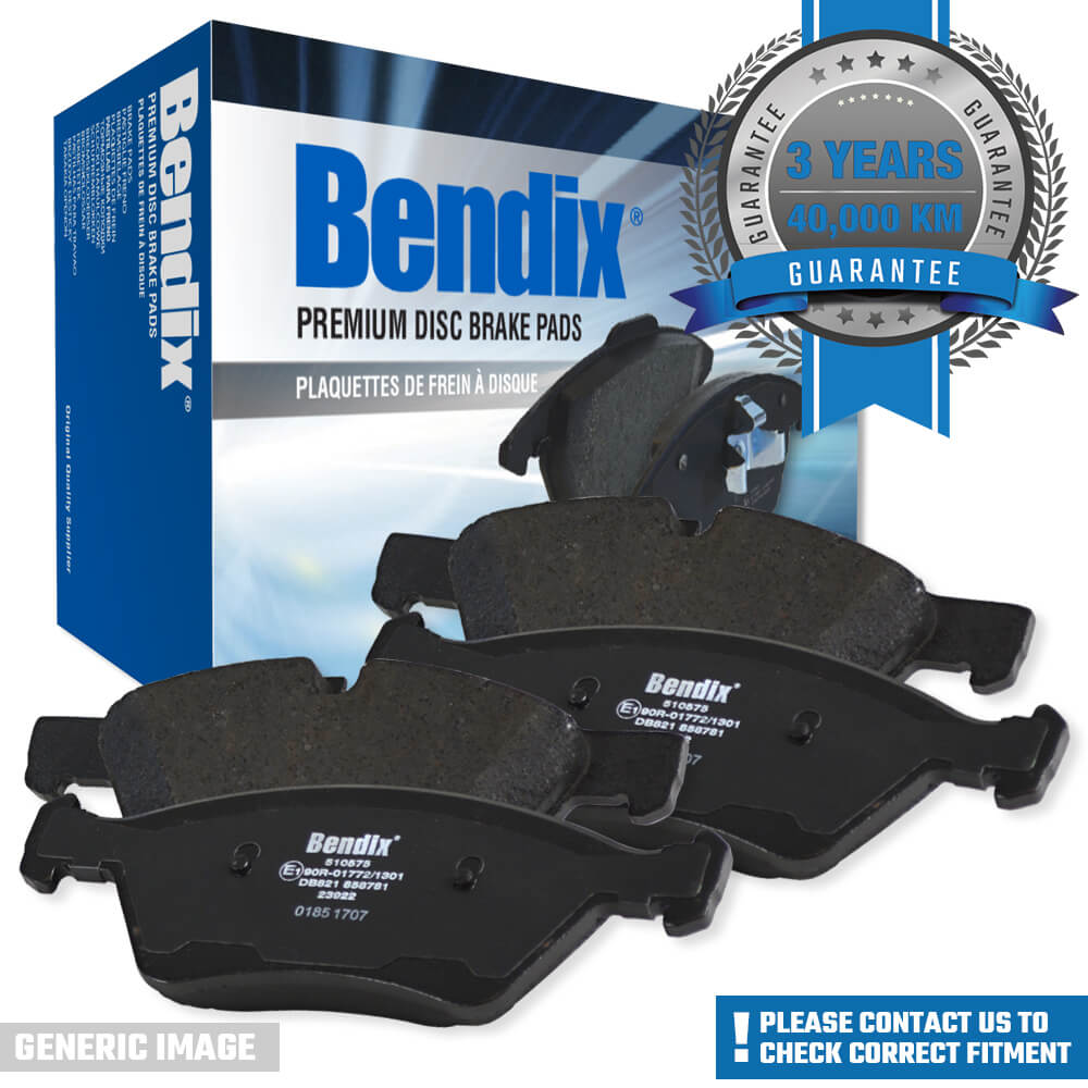 Details about Bendix Front Brake Pad Set for Toyota Hilux MK3 MK7 2005-2017