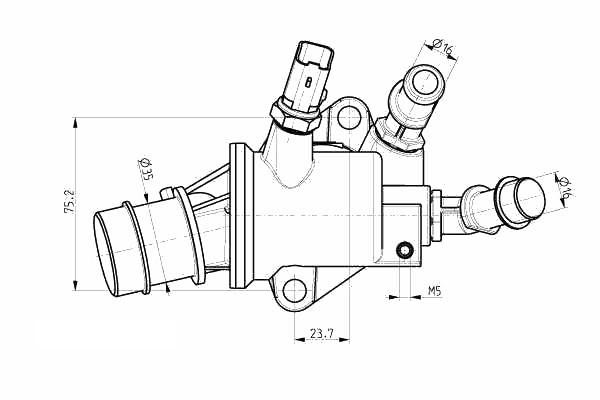 THERMOSTAT FIAT PUNTO//GRANDE PUNTO 199 1.9 D Multijet