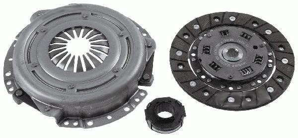 Fiat Punto 3 Piece Clutch Kit Part Number 71734449